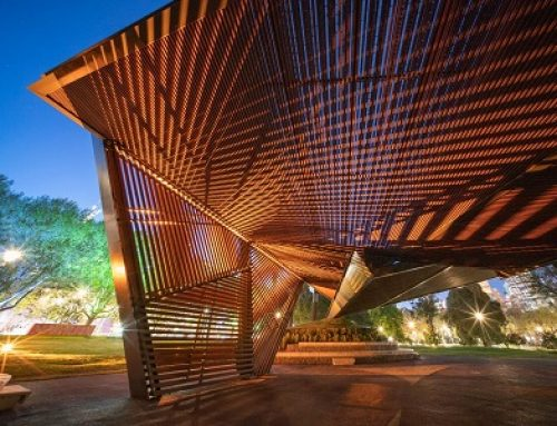 MPavilion opens in Melbourne