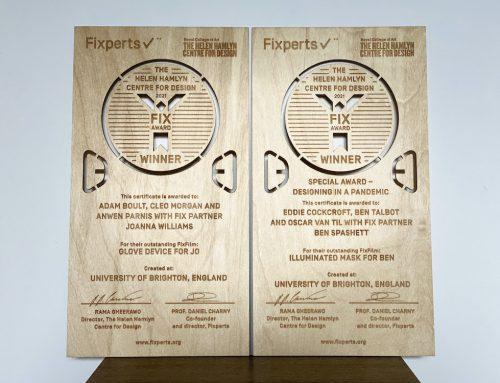 Winners announced for Royal College of Art Helen Hamlyn Fixperts Awards 2021